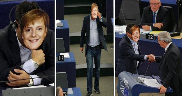 La Merkel è ovunque