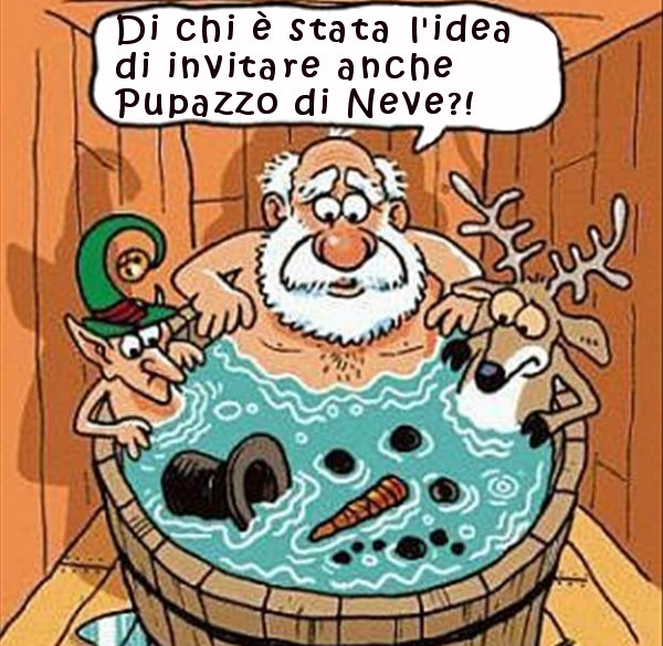 Babbo Natale e i suoi amici