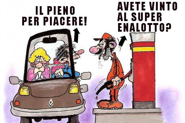 Il prezzo della benzina