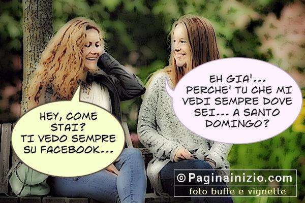 Vedersi su Facebook!