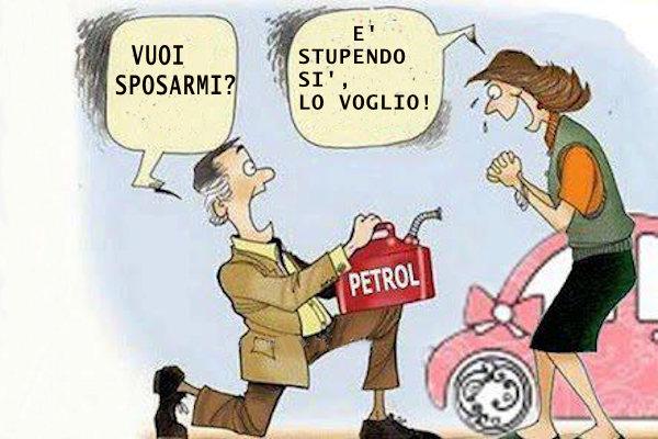 Quando il prezzo della benzina aumenta...