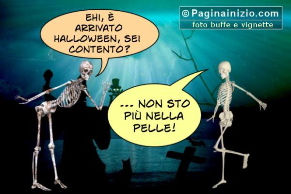 Gli scheletri ad Halloween