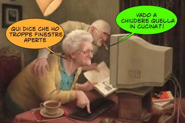 Gli anziani scoprono la tecnologia