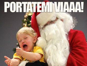 Quando Babbo Natale fa paura...