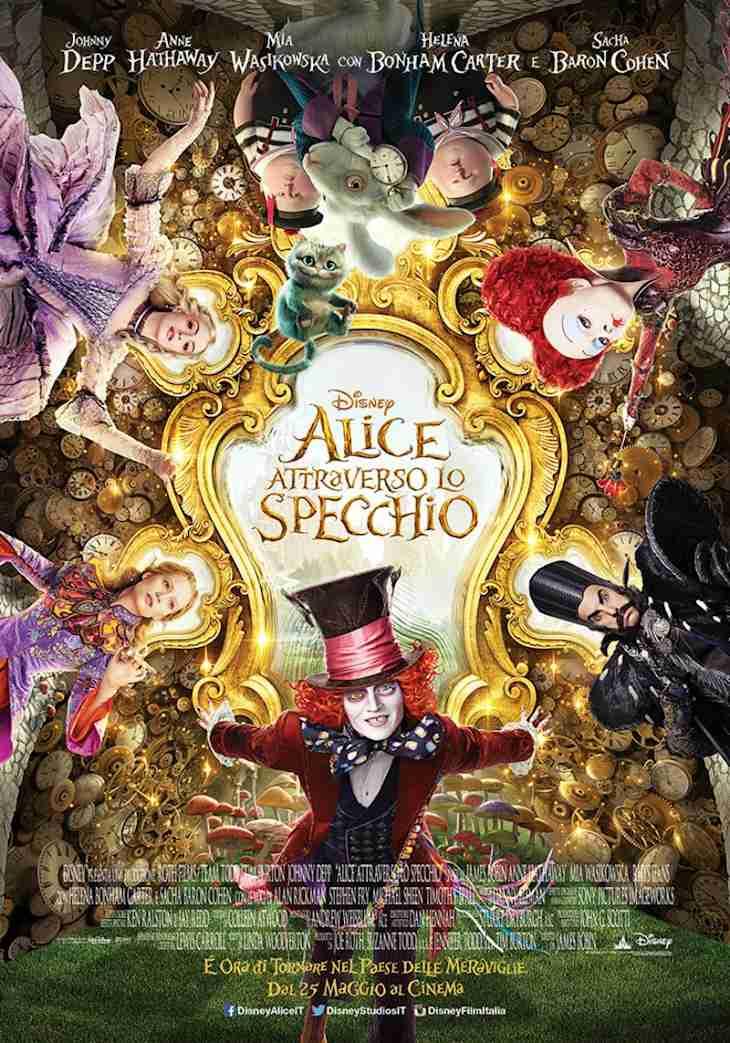 Frasi Del Film Alice Attraverso Lo Specchio