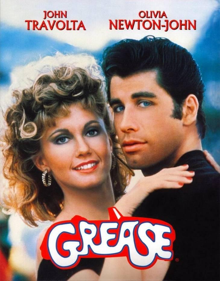 Locandina del film Grease