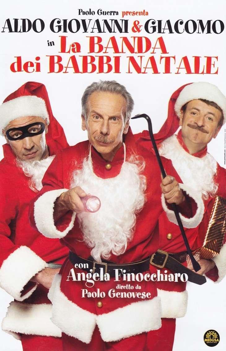 Frasi Film Natale.Locandina Del Film La Banda Dei Babbi Natale