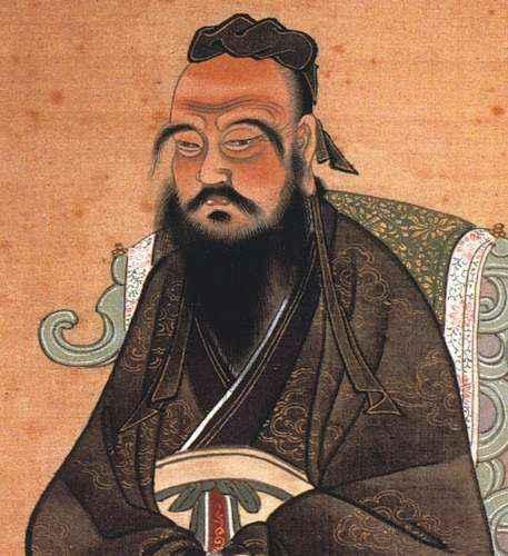 Foto di confucio