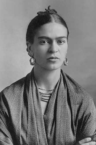 Foto di frida kahlo