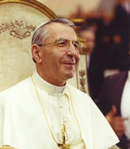 Foto di papa giovanni paolo i