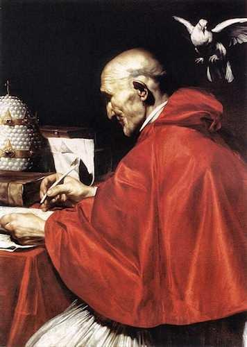 Foto di papa gregorio i