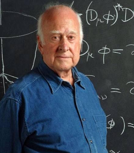 Foto di peter higgs