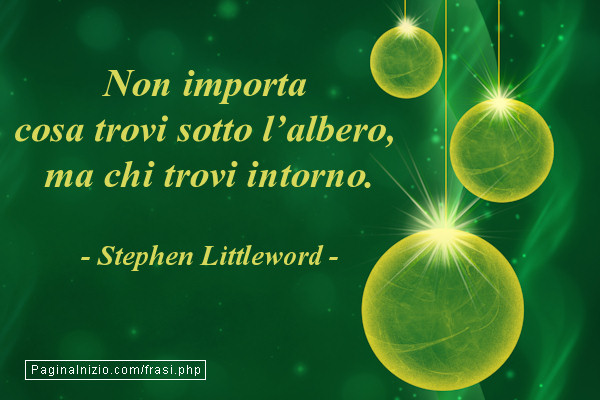 Exceptionnel Frasi sul natale WE79