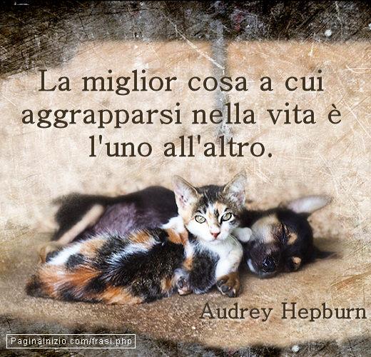 Frase Immagine Di Audrey Hepburn