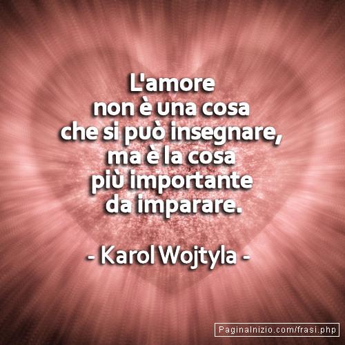Frasi Di Karol Wojtyla