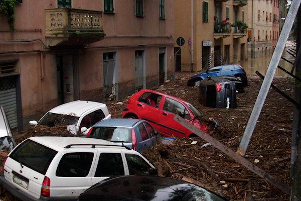 Alluvione del 2010 a Sestri Ponente (GE)