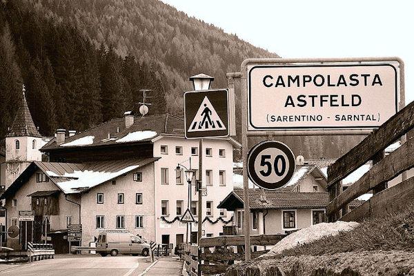 In Alto Adige si parla sia l'italiano che il tedesco