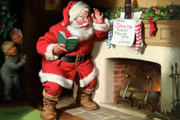 Babbo Natale Originale.Colore Babbo Natale Originale Babbo Natale In Finlandia