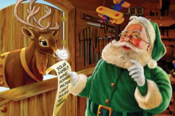 La Storia Vera Di Babbo Natale.Perche Babbo Natale E Vestito Di Rosso