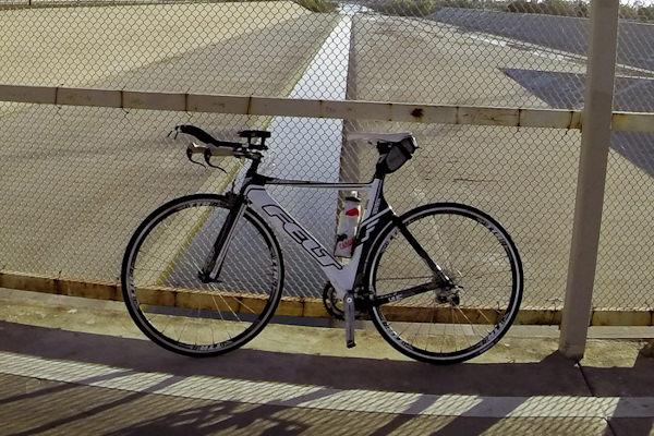Bicicletta da corsa usata al Tour de France nel 2014