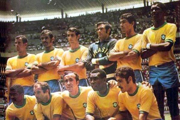 Formazione Brasile 1970