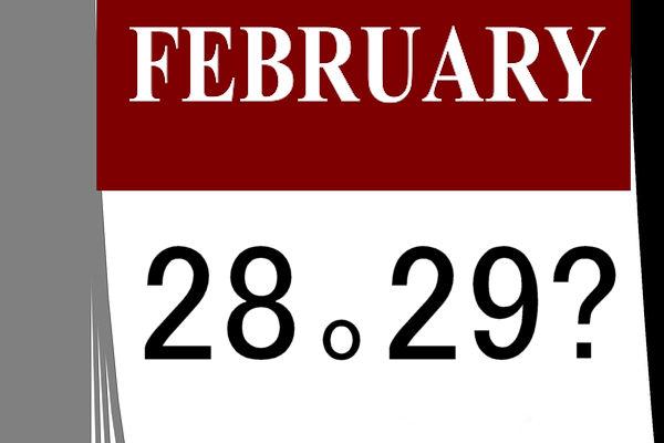 Febbraio ha 28 giorni, 29 durante gli anni bisestili