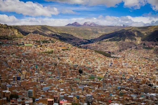 La Paz, in Bolivia, è la città più alta del mondo