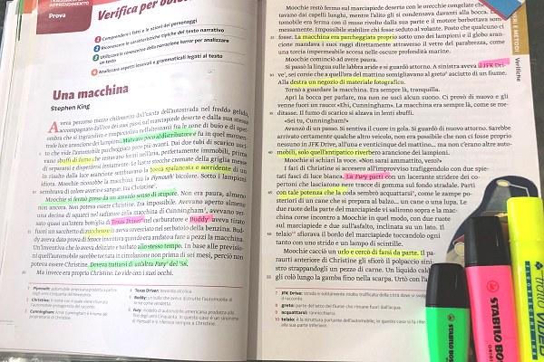 Il metodo del Color Coding aiuta l'apprendimento