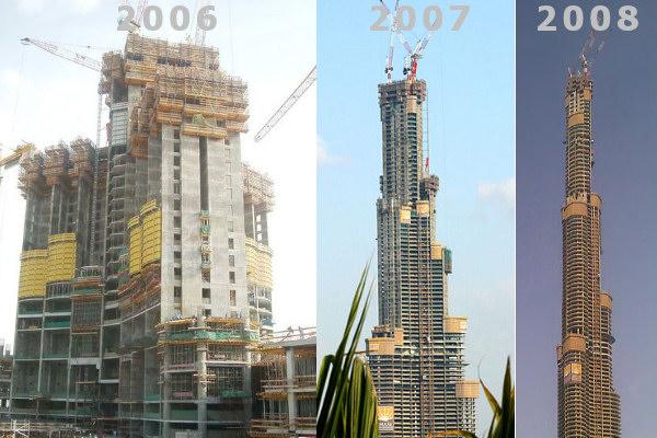 Fasi della costruzione