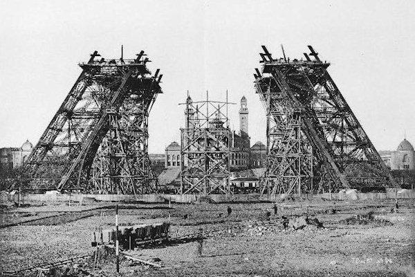 Costruzione della torre Eiffel