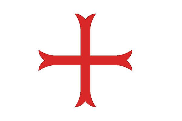I crociati indossavano una croce rossa cucita sulle vesti