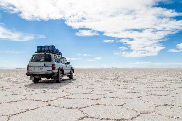 Un deserto di sale è una distesa salina formata laddove c'era un bacino d'acqua