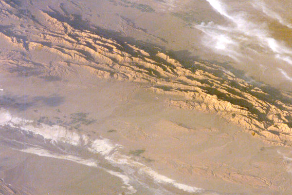 Nel 2005 il deserto del Lut registra una temperatura massima di 70,7°C