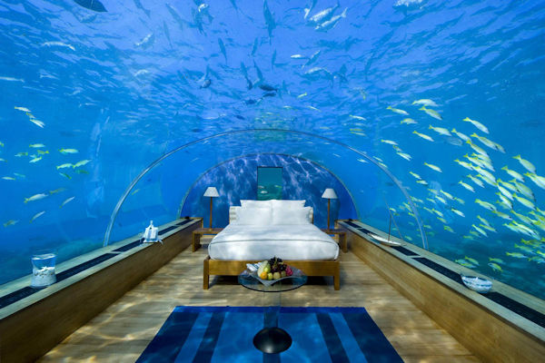 In Florida è possibile dormire sott'acqua