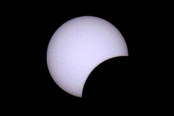 Eclissi di Sole parziale