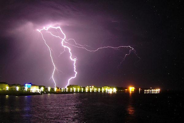 Temporale del 2005 a Cirò Marina (Calabria)