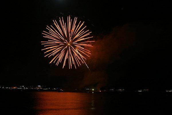 Fuochi d'artificio di Ferragosto