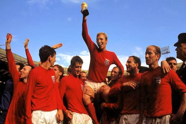 Il trionfo ai mondiali 1966 della nazionale inglese
