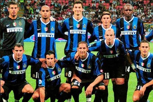 La formazione dell'Inter nella stagione 2006-2007