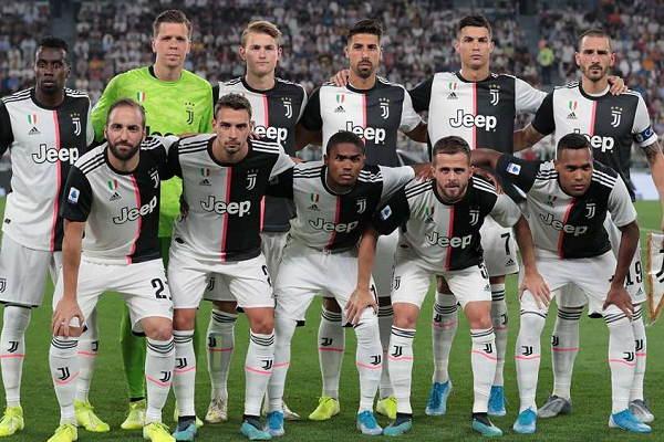 La Juventus, campione nella stagione 2019/2020