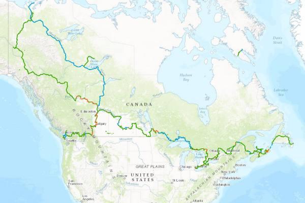 Il percorso della Great Trail