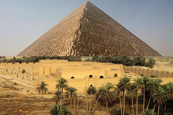 Piramide Cheope - Giardini Babilonia