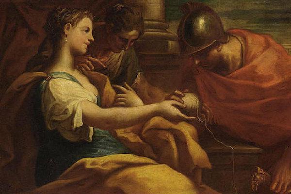 Il mito di Arianna e Teseo