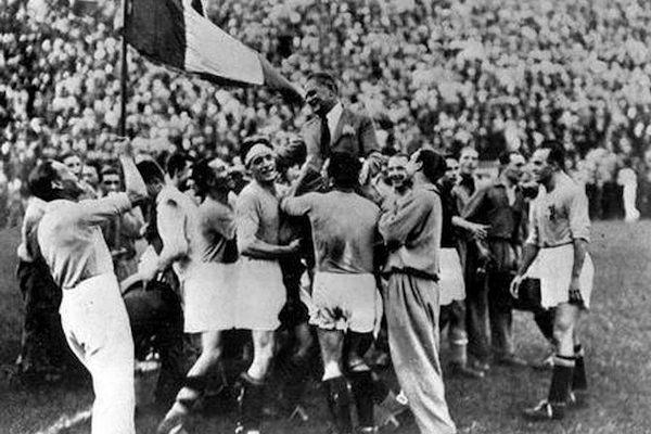 La prima vittoria italiana ai mondiali di calcio, anno 1934