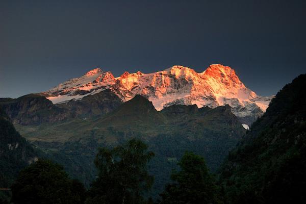 Il 2° monte più alto d'Italia è il Monte Rosa
