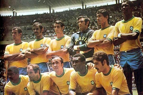 La nazionale carioca nel 1970