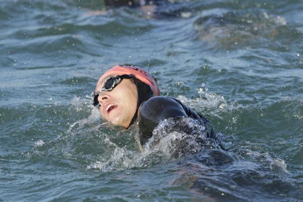 L'ironman si compone di 3,8 km di nuoto