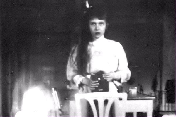 Primo autoscatto di Anastasia Nikolaevna