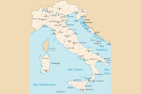 Cartina Con Province D Italia.Quali Sono Le Province Italiane Piu Piccole
