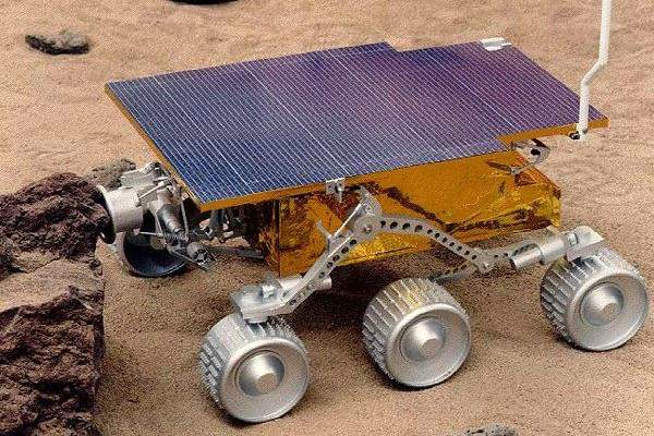Il primo rover lanciato su Marte nel 1971 (Sojourner-Pathfinder)